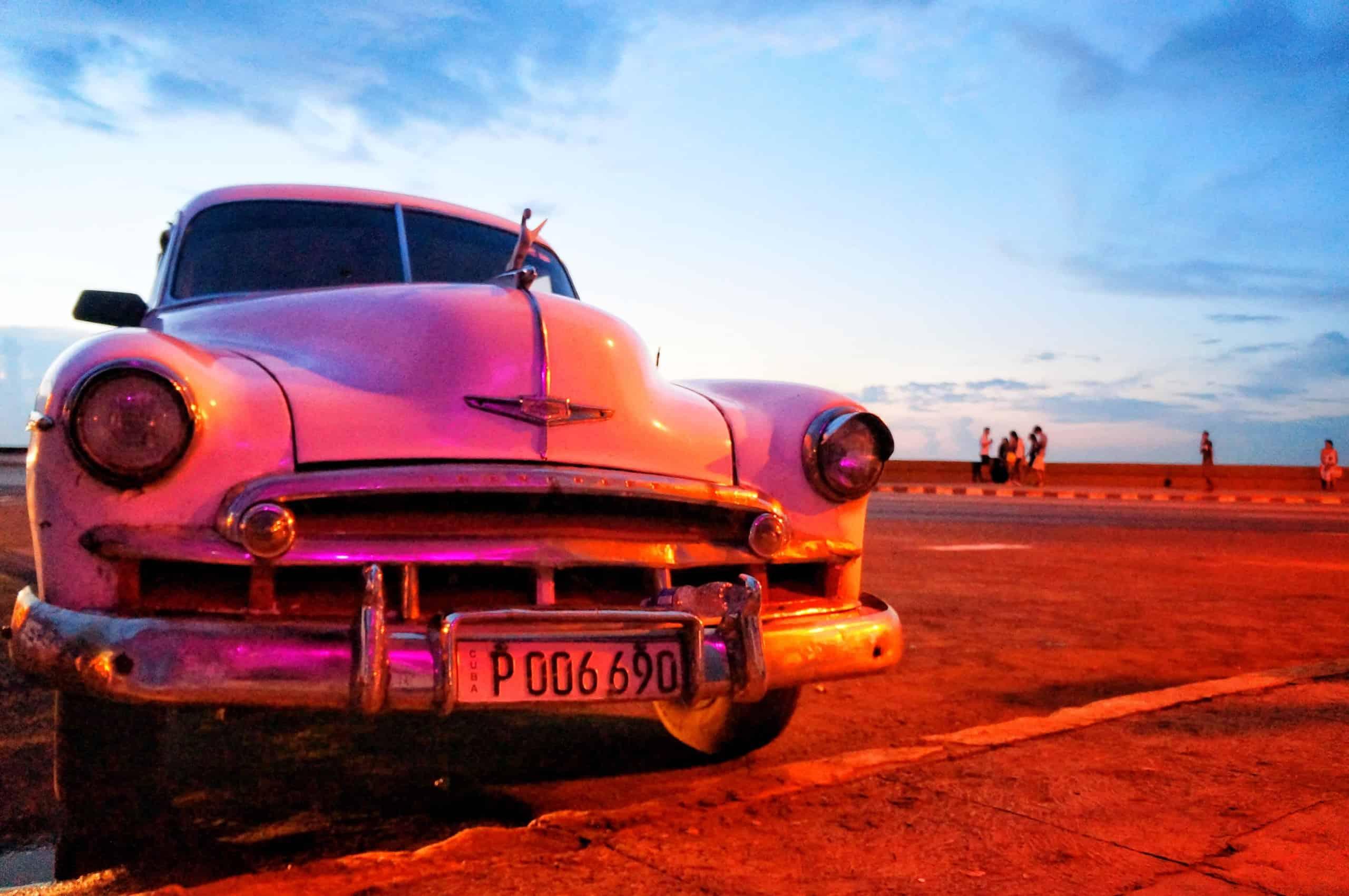Chevy Bel Air in Havanna Kuba