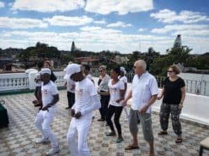 уроки танцев на крыше в Гаване