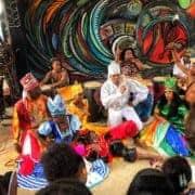 afro cuban rumba live at callejon de hamel in havana cuba