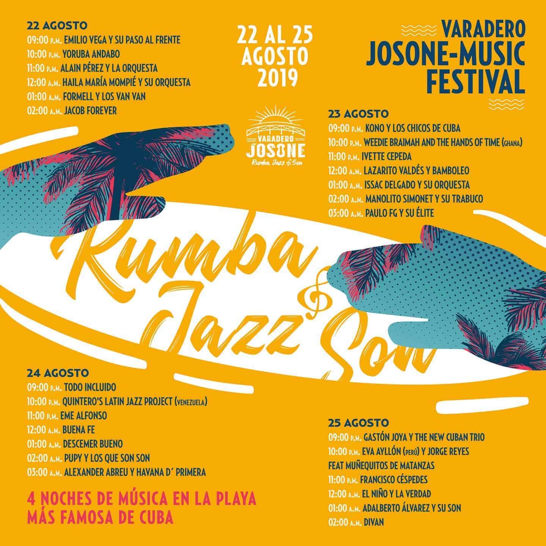 varadero jazz son rumba festival in josone park