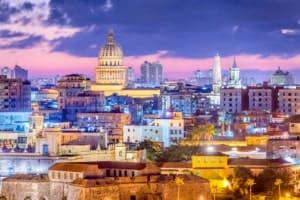 Havanna Kuba Skyline-Ansicht