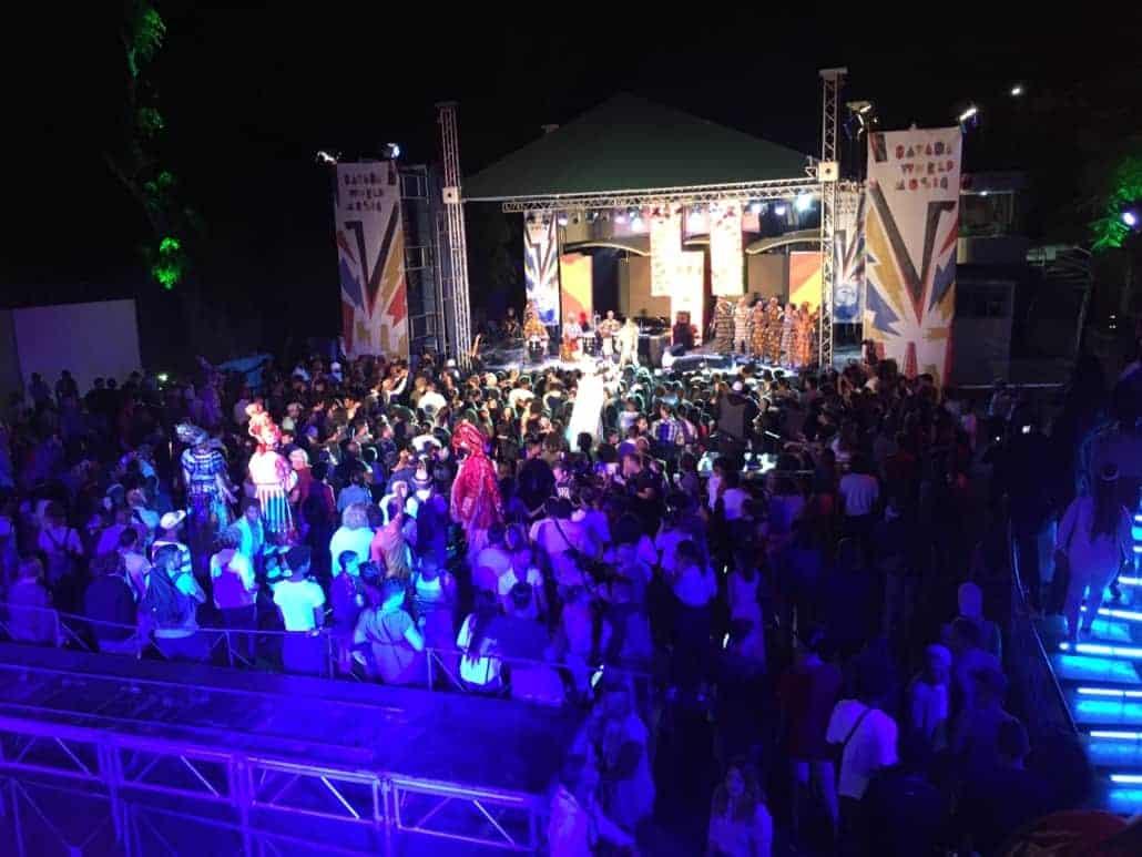 crowd view of havana world music festival