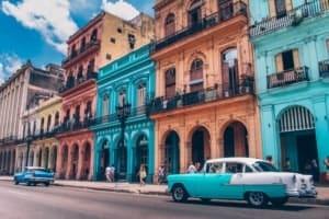 altes Havanna und Oldtimer