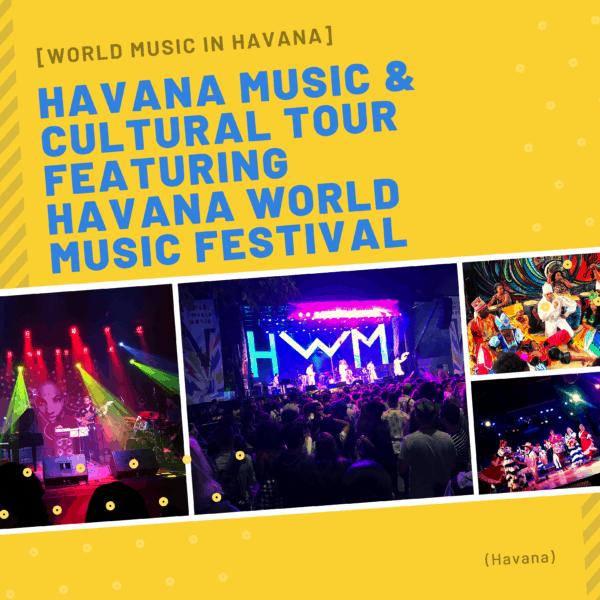 havana world music festival flyer artist